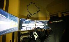 Automobilių sportas simuliatoriuose