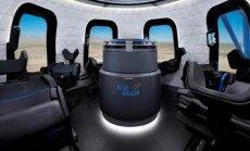 Leista pažvelgti į kosmoso turizmo kapsulę New Shepard, Blue Origin nuotr.