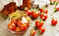 Marinuoti pomidorai - greitukai