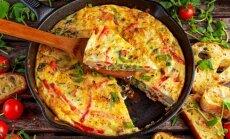 Tiks ir pusryčiams, ir vakarienei: kitoks omletas su daržovėmis