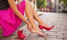 Genialios gudrybės, kaip pratampyti trinančius batus