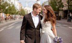 Evelina Anusauskaitė Young ir jos vyras Adamas Young