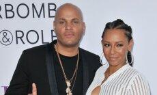 Mel B ir jos dabartinis vyras Stephenas Belafonte