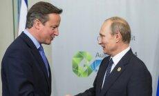 Davidas Cameronas, Vladimiras Putinas