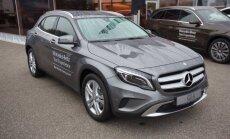 Vengrijoje surenkamas Mercedes-Benz GLA