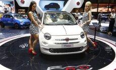 Labiausiai vasarį pasistiebė Fiat