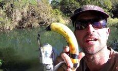 Iš banano pagaminta meškerė