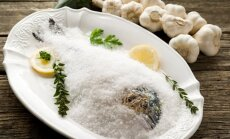 Žuvis su druska