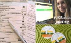 Jaunimas vienijasi balsavimui rinkimuose