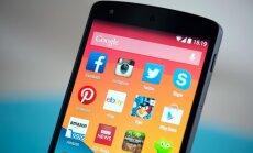 Google Nexus 5 išmanusis telefonas