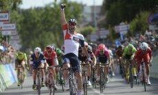 Giro d'Italia dviratininkų lenktynių 17 etapo finišas