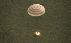 Kapsulė Sojuz TMA-15M į Žemę sugrąžino tris TKS įgulos narius