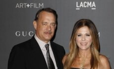 Tomas Hanksas and Rita Wilson