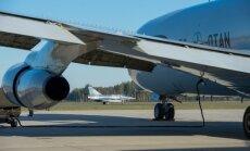 Šiauliuose nusileido vienas moderniausių NATO žvalgybos orlaivių
