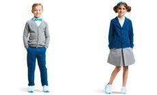 Mokyklos aprangos kolekcija daug judantiems vaikams