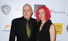 Andrew (kairėje) ir Lana Wachowskiai