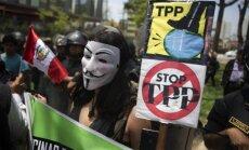 Protestai prieš Ramiojo vandenyno partnerystės sutartį (TPP)
