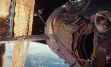 Kadras iš filmo Gravitacija