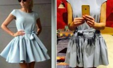 Aušrinės užsakyta suknelė