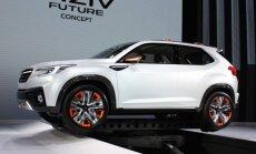 Koncepcinis Subaru Viziv. Panašiai gali atrodyti naujasis elektromobilis