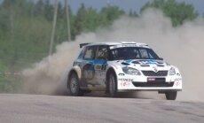"""Rally Talsi 2016"" finišas (D. Kibirkščio nuotr.)"