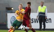 Futbolas: Rusija U16 - Lietuva U16