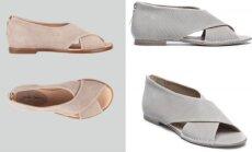 """""""Julia Janus"""" ir """"Laura Bellariva"""" sandalų modeliai"""