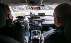 Nežymėta policijos Audi