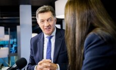 PM Algirdas Butkevičius at the DELFI TV Conference