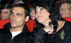 Lolita Miliavskaja ir jos vyras Dmitrijus Ivanovas