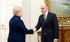 Dalia Grybauskaitė, Tomas Žilinskas