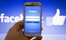 Facebook išmaniajame telefone