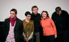 Filmo Valentinas už 2rų spaudos konferencija