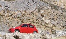 Vairuotojų nuotykiai Kretoje: mirtini skardžiai ir ko iš tiesų reikėjo policijai