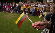 Lithuanians gathering in Peterborough, UK