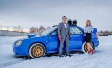 R. Šeinauskas ir R. Krikščiūnaitė važiuos Subaru Impreza WRX