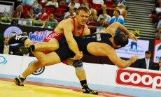 Laimutis Adomaitis kovoja su Javidu Hamzatovu