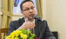 The former Lithuanian Ambassador to the USA, Žygimantas Pavilionis  Photo Ludo Segers