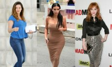 Kelly Brook, Kim Kardashian, Chrisina Hendricks