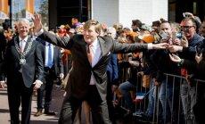 Nyderlandų karalius švenčia 50-metį