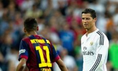 Neymaras ir Cristiano Ronaldo