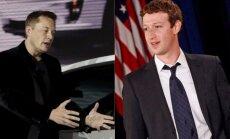 Elonas Muskas, Markas Zuckerbergas