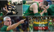 Lietuvos krepšininkų rungtynių olimpinėse žaidynėse užkulisiai