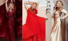 S. Mykolaitytė tapo meno kūriniais vadinamų R. Silės suknelių modeliu