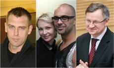G. Einikis, V. Malevska ir E. Štengeris-Mundis, E. Vareikis
