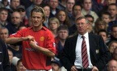 Davidas Beckhamas ir Alexas Fergusonas