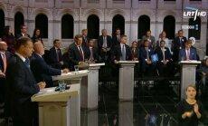 Elections debate on LRT