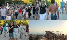 Palanga švenčia vasarą: atmosfera kaista