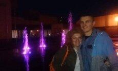 Jolanta Morkūnienė su sūnumi Tadu
