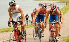Triatlonas: dviračių lenktynės